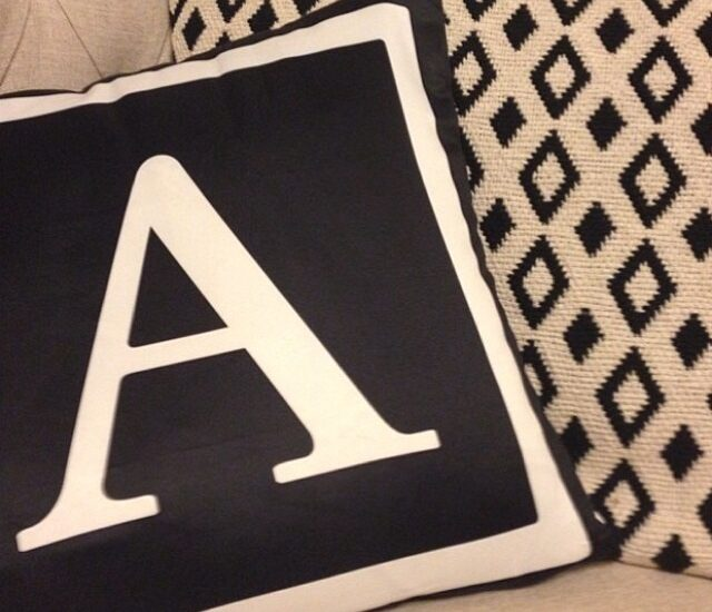 Letter A. Thanks for the shot @ameliahicks88 (insta)